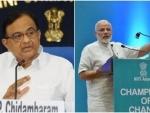 PM Narendra Modi gave us a headline and a blank page: Chidambaram
