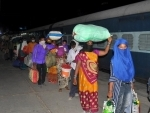 Home Ministry issues revised SoPs on movement of stranded workers by trains