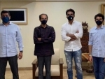 Sonu Sood meets Uddhav Thackeray following Shiv Sena leader Sanjay Raut's mocking