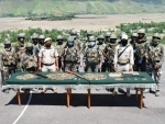 Security forces recover huge cache of arms-ammunition in Manipur's Tengnoupal district