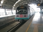 Delhi Metro casts first ever pier of Phase 4 work
