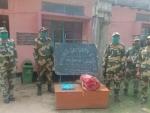 BSF seizes 4000 Yaba tablets and 4 kg Ganja along Indo-Bangladesh border