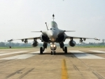 IAF inducts five Rafale fighter jets at Ambala air base