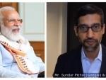 PM Modi interacts with Google CEO Sundar Pichai, discusses COVID-19 pandemic