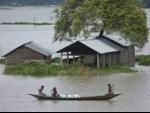 Central team visits Assam to assess the flood-landslide damages of the state