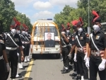 State funeral of former President Pranab Mukherjee takes place with full military honour