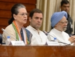 CWC meet ends, Sonia Gandhi to continue as Congress president