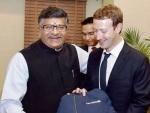 'Facebook employees on record abuse PM Modi', Ravi Shankar Prasad writes to Mark Zuckerberg