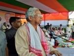 Former Assam CM Tarun Gogoi tests positive for Covid-19