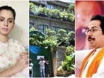 Kangana dares Uddhav Thackeray, says will see his arrogance crumble after BMC gashes her Mumbai office before court stay