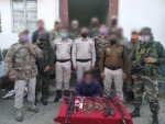 Manipur: Security forces apprehend hardcore insurgent, recover huge cache of arms