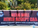 NESO observes black day protesting against CAA
