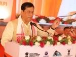 Nitin Gadkari, Sarbananda Sonowal lay foundation stone of Multi Model Logistics Park in Assam's Jogighopa