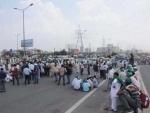 Kisan Mazdoor Sangharsh Committee announces to launch 48 hrs 'Rail Roko Program'