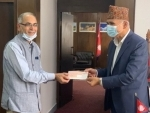 Indian government hands over NPR 1 billion tranche for Nepal Housing Reconstruction Project