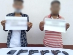 Security forces apprehend two arms dealers along with arms in Nagaland's Dimapur