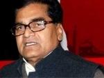 Uttar Pradesh: Prof Ram Gopal Yadav files nominations for biennial RS polls