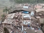 15 inured, 70 feared trapped as building collapses in Maharashtra's Raigad