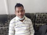 Uttar Pradesh gangster Vikas Dubey arrested from a temple in Ujjain in Madhya Pradesh