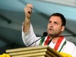Democracy will not function as per BJP's deceit : Rahul Gandhi