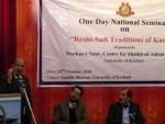 Ex-bureaucrat emphasises revival of 700 yrs of composite Kashmiri culture