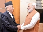 Nepal PM KP Sharma Oli greets PM Modi on 74th Independence Day