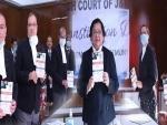 CJ Gita Mittal reads out preamble at Jammu Wing