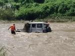 Flash flood wash away vehicle in Nagaland's Dimapur, one killed