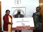 Cheques distributed to beneficiaries under Meghalaya Piggery Mission
