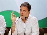 PM Modi running campaign to sell govt companies: Rahul Gandhi
