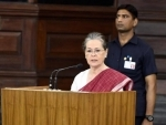 Sonia Gandhi cautions people from those unleashing an era of psychological fear and confusion