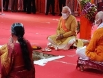 Ram Temple Trust head who shared stage with PM Modi in Ayodhya tests Covid-19 positive