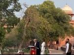 After visiting Taj Mahal, Donald Trump along with Melania arrive in Delhi