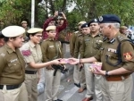 Holi celebration: Delhi Police chief visits violence-hit Northeast Delhi, exchange sweets