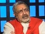 Union minister Giriraj Singh calls Deoband 'Antankwaad Ki Gangotri'