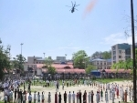 Guwahati : Armed forces express gratitude to COVID-19 warriors with flower petal showers, flypasts