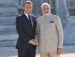 President Emmanuel Macron raises Kashmir issue with PM Modi