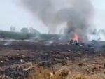 IAF MIG-29 jet crashes in Punjab, pilots safe