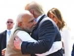 Donald Trump participates in massive roadshow in Ahmedabad, visits Sabarmati Ashram