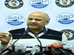 Manish Sisodia releases AAP campaign song