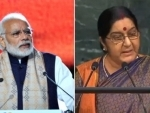She epitomized dignity, decency and unwavering commitment to public service: Narendra Modi tweets on Sushma Swaraj