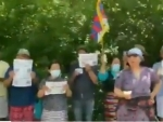 Chinese intrusion in India: Tibetan leaders demonstrate in Toronto