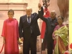 Kovind welcomes Donald Trump and Melania for dinner banquet at Rashtrapati Bhavan