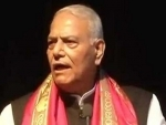 CAA has been brought in to divide nation on communal lines, says Yashwant Sinha