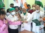West Bengal: BJP MLA Tushar Kanti Bhattacharya returns to TMC