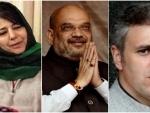 Amit Shah triggers controversy with his 'Gupkar gang' remark, Kashmiri leaders slam him