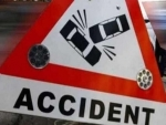 Twenty holidaymakers injured after chartered bus hits truck on Mumbai Road