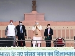 Amit Shah hails laying of foundation stone of new Parliament building, congratulates PM Modi