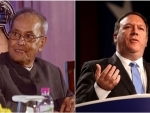 Pranab Mukherjee played crucial role in paving stronger US-India partnership: Mike Pompeo