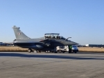 First batch of Rafale jets enters Indian airspace, to land at Ambala airbase shortly